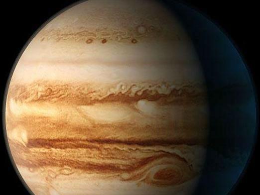 Какие есть цвета на планете юпитер