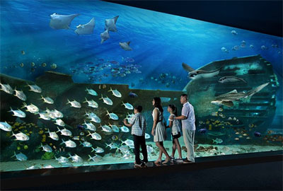 самый большой океанариум в мире