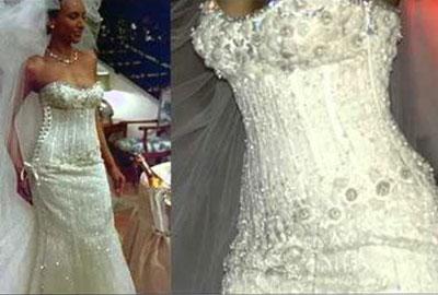 Самое доргое свадебное платье