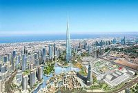 самое высокое здание в Дубае - фото