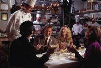 в элитном ресторане