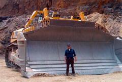 самый большой бульдозер в мире