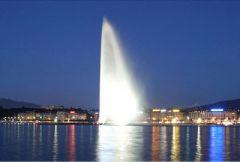 Фонтан в Женеве